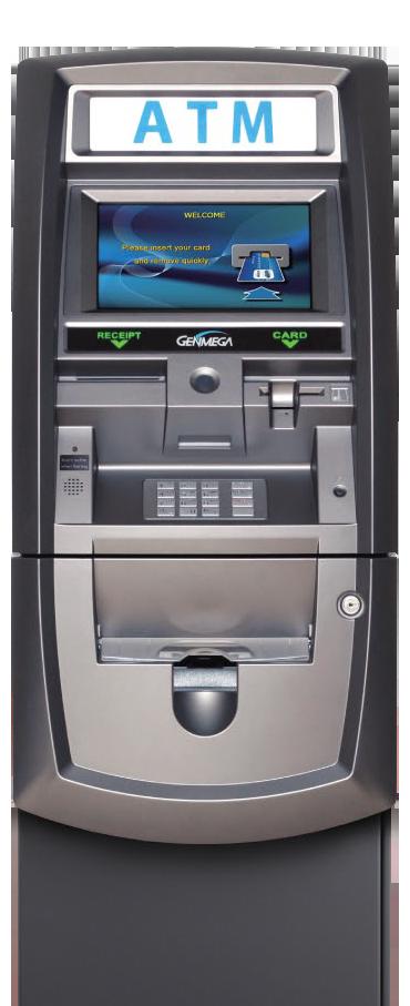 Genmega 2500 Retail ATM Terminal