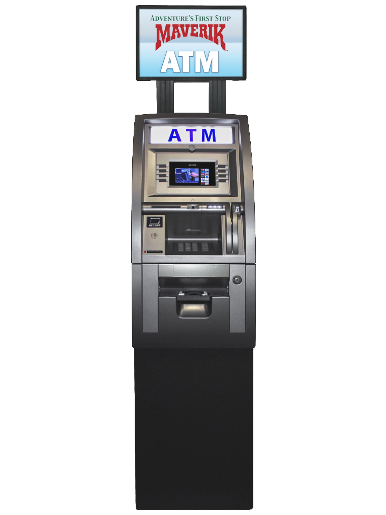 ATM services, placement and processing for convenience stores.