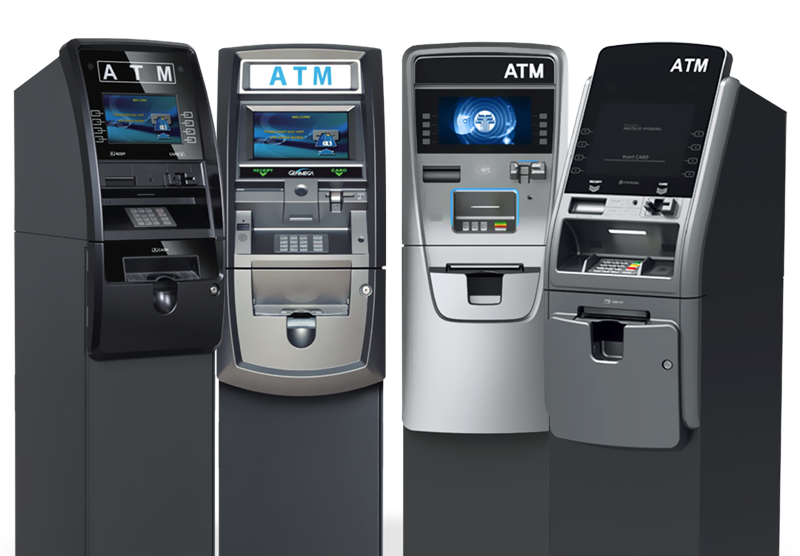ATMs for the hospitality industry including Hotels, Restaurants, and Convention Centers.
